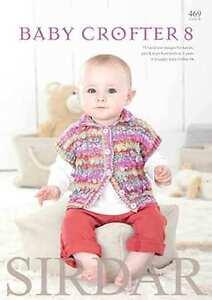 Sirdar-Crofter-Baby-8-Book-16-patterns-0-7yr-using-Snuggly-Baby-Crofter