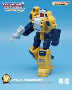 Transformers Mech Fans Toy Head Warrior MFT VS-02 Weirdwolf New in stock