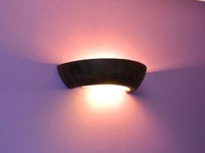 Lampe-Murale-Clair-Ceramique-STV-255-Marron-LEDs-Convient-Superieur-Design
