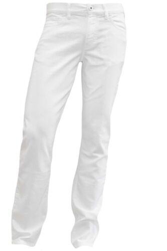 Alberto Jeans Lusso T400 Denim Modello Pipe Bianco