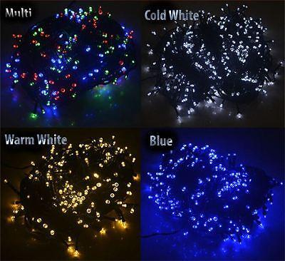 Nuovo 400 Led String Fairy Lights Indoor-outdoor Natale Festa Giardino Albero-mostra Il Titolo Originale