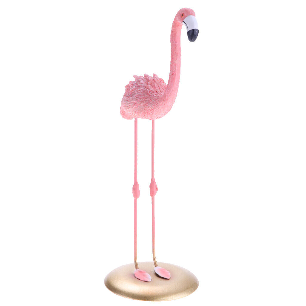 Dekofigur Flamingo goldfarbig différentes variantes 40 cm