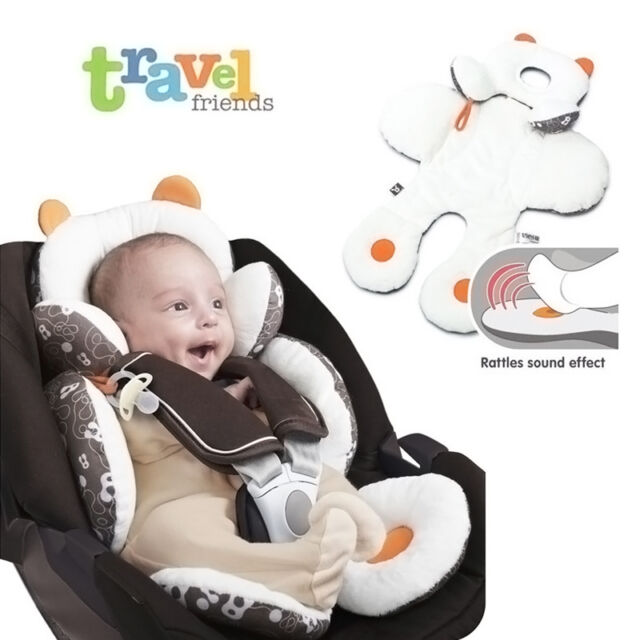Total Head And Body Support Baby Infant Pram Stroller Car Seat Cushion Pretty