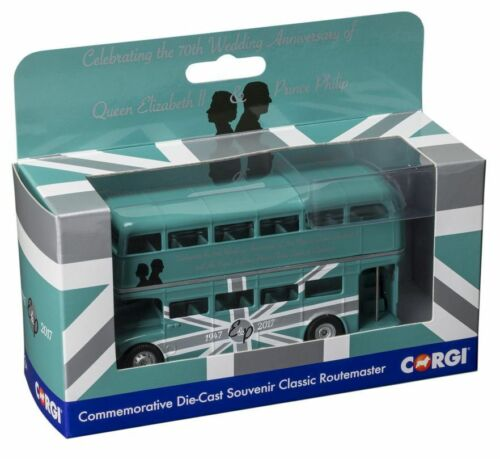 Corgi Bus 82327CC 70th Anniversary of HM Queen Elizabeth II and HRH Prince  1//76
