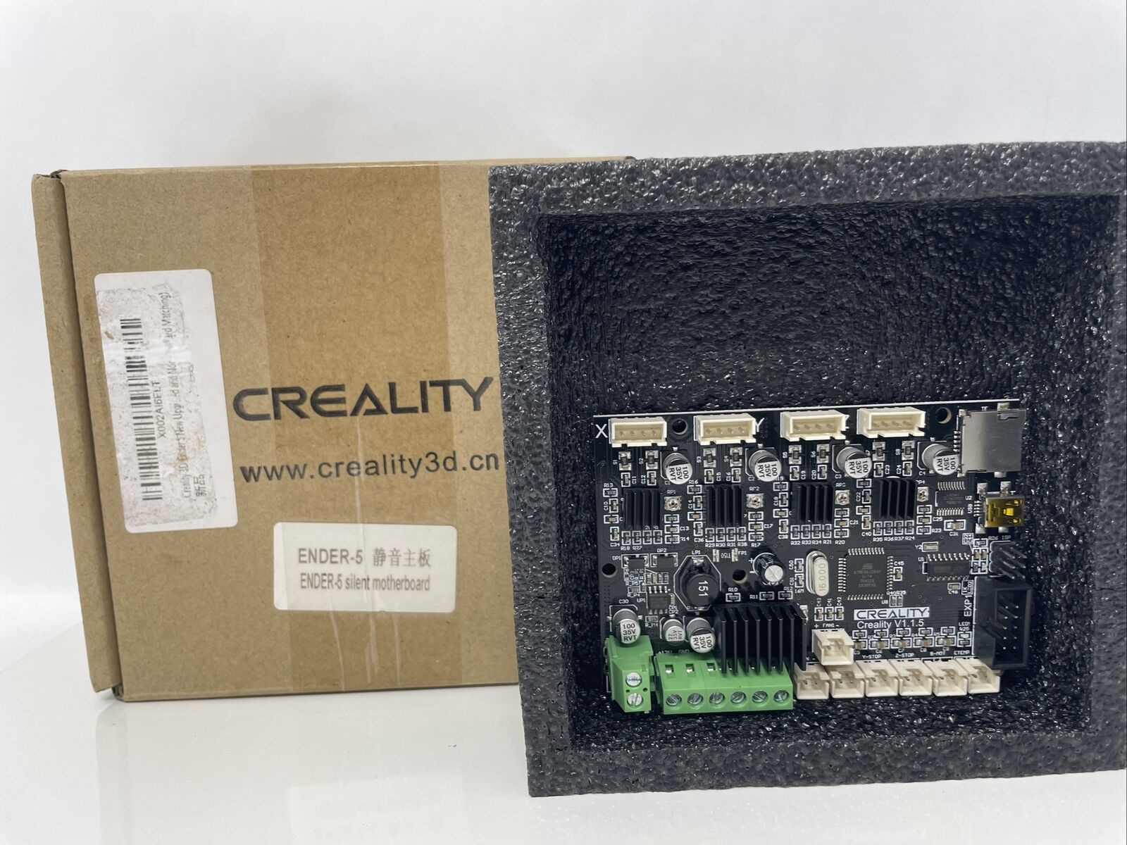 Creality Ender 5 New Upgrade Motherboard Silent Mainboard V1.1.5 with TMC2208 Dr