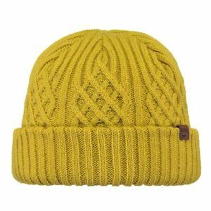 Details zu Barts Mallard Beanie Yellow Mütze Wintermütze Strickmütze Senf Gelb