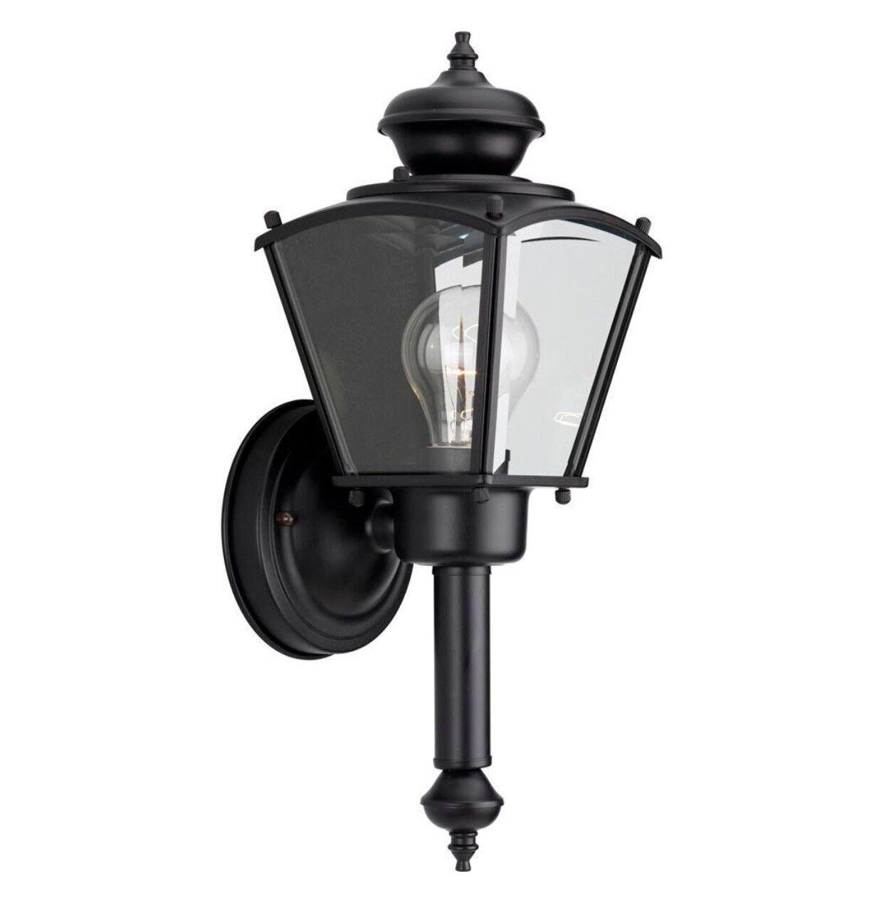 Progreso iluminación P5846-31 de 1 Luz Negro Exterior Parojo Linterna