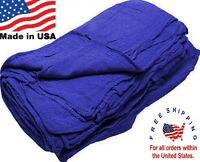 500 Great American Textile Mechanics Shop Rags Towels Indigo Jumbo 13x14 on sale