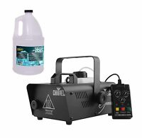 Chauvet Dj Hurricane 1200 Fog/smoke Machine W/ Wired Remote + Fog Fluid | H1200 on Sale