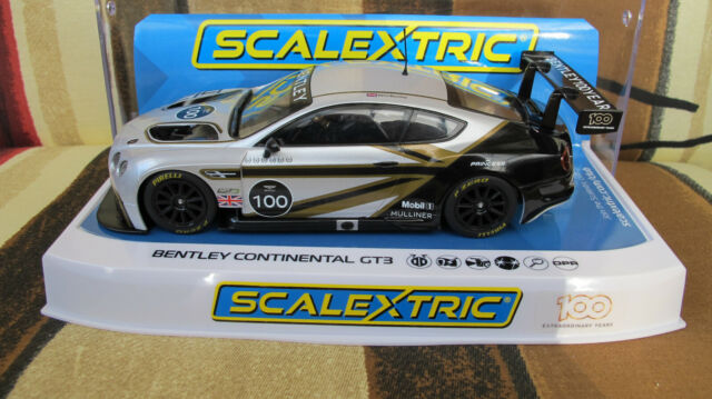 "Scalextric  Bentley Continental GT3   "" 100 Extraordinary Years ""   Ref. C4057A"
