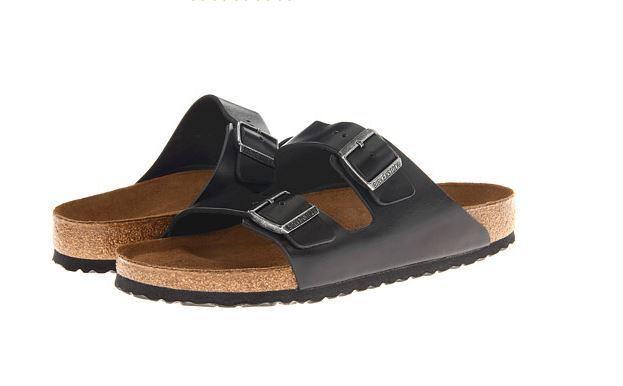 ec92da835825 Birkenstock Arizona Soft Footbed Sandal 13 R Black Oiled Leather for sale  online