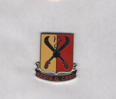 US Army 162nd Field Artillery FA crest DUI clutchback c//b badge P-23