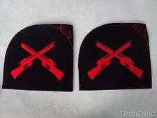NEW Pair of Military Royal Navy Marksman Cloth Badges / Patches