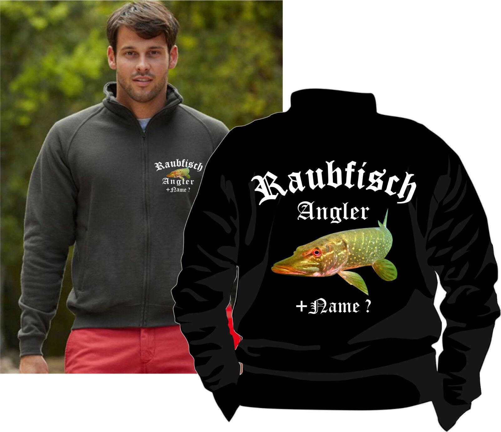 Hechtangeln Kapuzen Pulover Angler T-Shirt Poloshirt Hecht Raubfischangeln 152