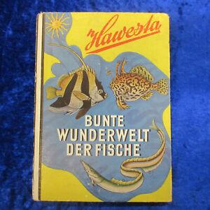 BUNTE WUNDERWELT DER FISCHE - HAWESTA Sammelbilderalbum - 5 Bilder fehlen