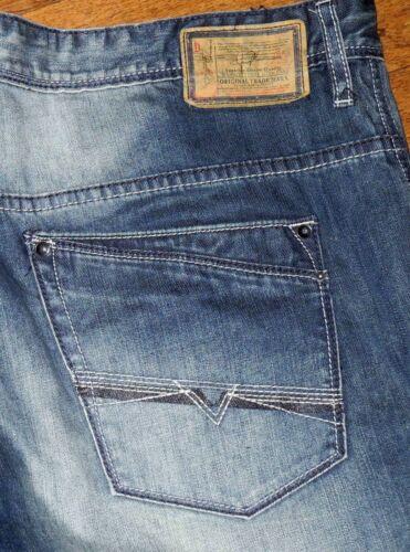 Authentic Buffalo SPENCER Slim Fit  Men/'s Black Blue Jeans Sz 32x32 38x32