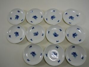 ROSENTHAL-Romanze-in-Blau-Wiinblad-11-Untersetzer-Mini-Teller-9-5-cm