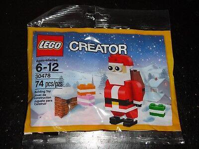 LEGO CREATOR 30478 SANTA CLAUS 74 PIECE POLY-BAG