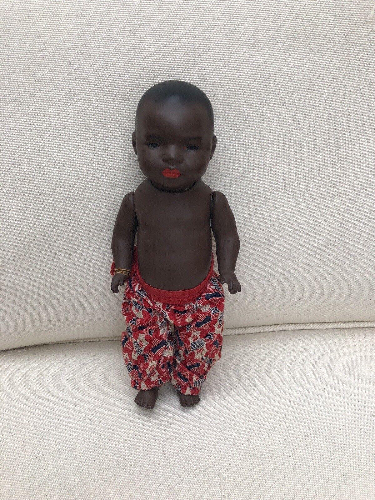 Ernst solco Koppelsdorf 399 Cir'1920s TUTTO ORIGINALE Bambola africana