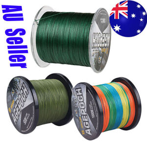 AU-Braid-Agepoch-8-Strand-300M-1000M-10LB-300LB-pe-Dyneema-Braided-Fishing-Line