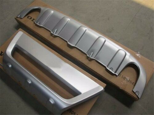 Front Rear Bumper Skid Protector Guard For VOLVO XC60 2009 2010 2011 2012 2013