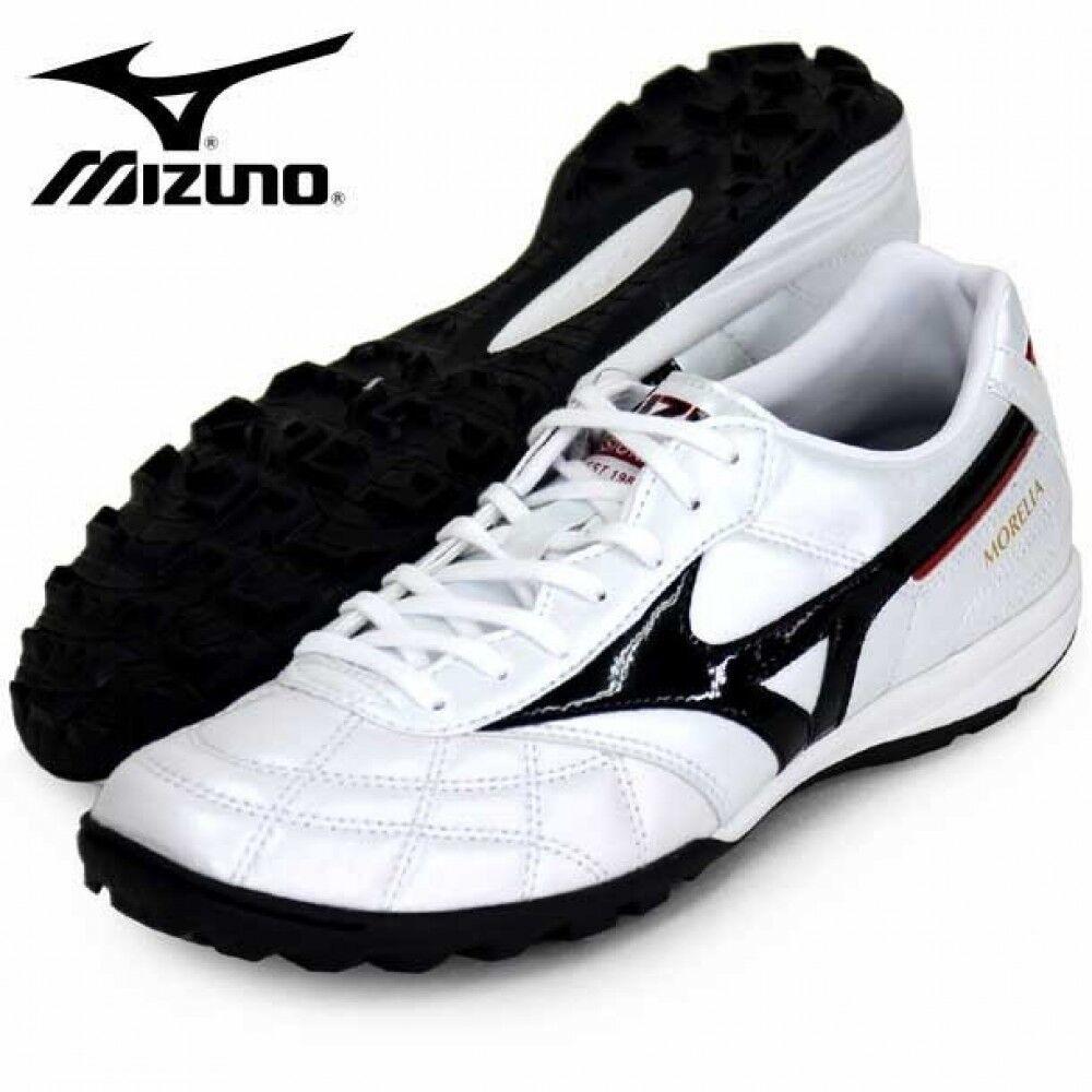 nuovo Mizuno Morelia Tf Calcio Futsal Sautope Q1gb1902 Bianco con Tracciabilità