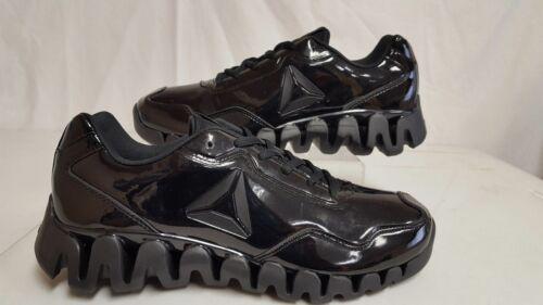 Reebok Pulse Zig Energy Ref Court Shoe-Patent Leather DV5221