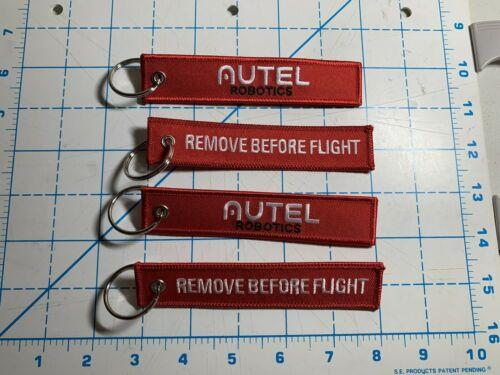 "CES Swag 2020 Las Vegas 4 Pack Flight Red//White Key Chain 5.5/"" x 1/"""