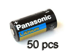 50 PCS of Panasonic Lithium CR123A 3V Batteries