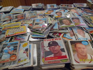 Details About Blowout Sale Of Old Vintage Baseball Card Collection Original Unopened Packs