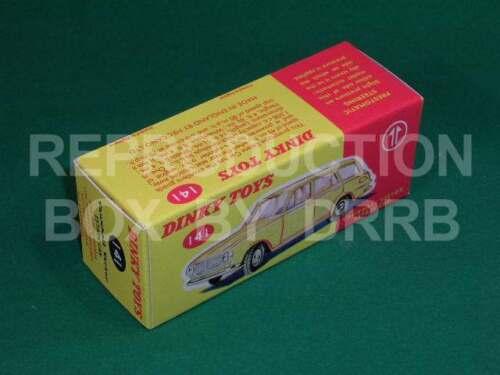 Dinky #141 Vauxhall Victor Estate-Caja de reproducción por drrb