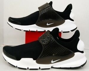 reputable site 985ae c7692 Image is loading Nike-Sock-Dart-KJCRD-Black-White-819686-005-