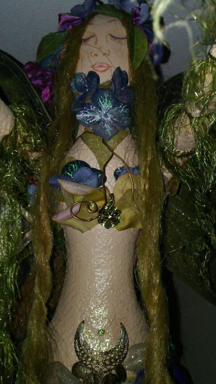 Arte muñeca de hadas ooak