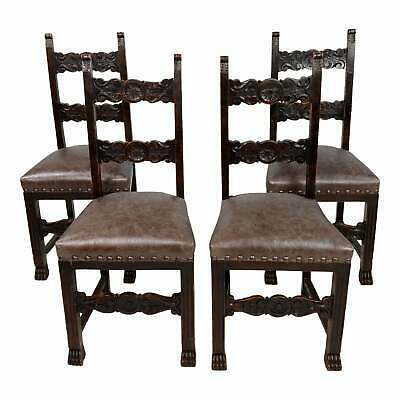 19th Century Spanish Revival Chairs W, Spanish Revival Furniture