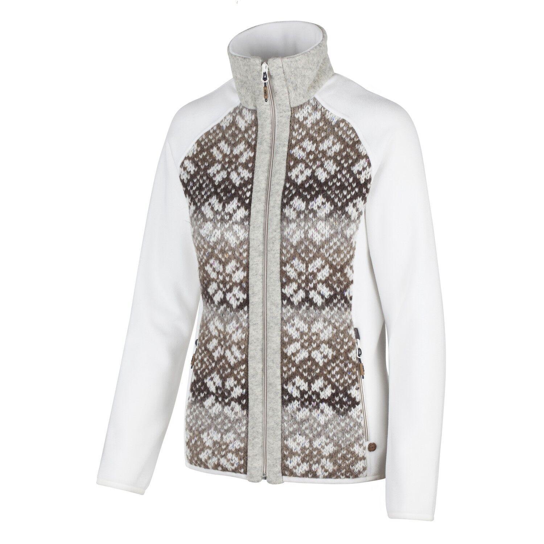 CMP Pinewood chaqueta lana función chaqueta blancoo patrón  aislante caliente  el mas reciente