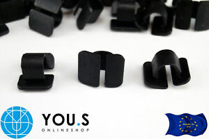 10 X Clip Fixation Colliers Capot Isolant Pour Vw - 8e0863727a-afficher Le Titre D'origine