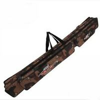 Fishing Rod Bags Outdoors Organizer Rod Carry Grey Fishing Tackle Case 80-120cm