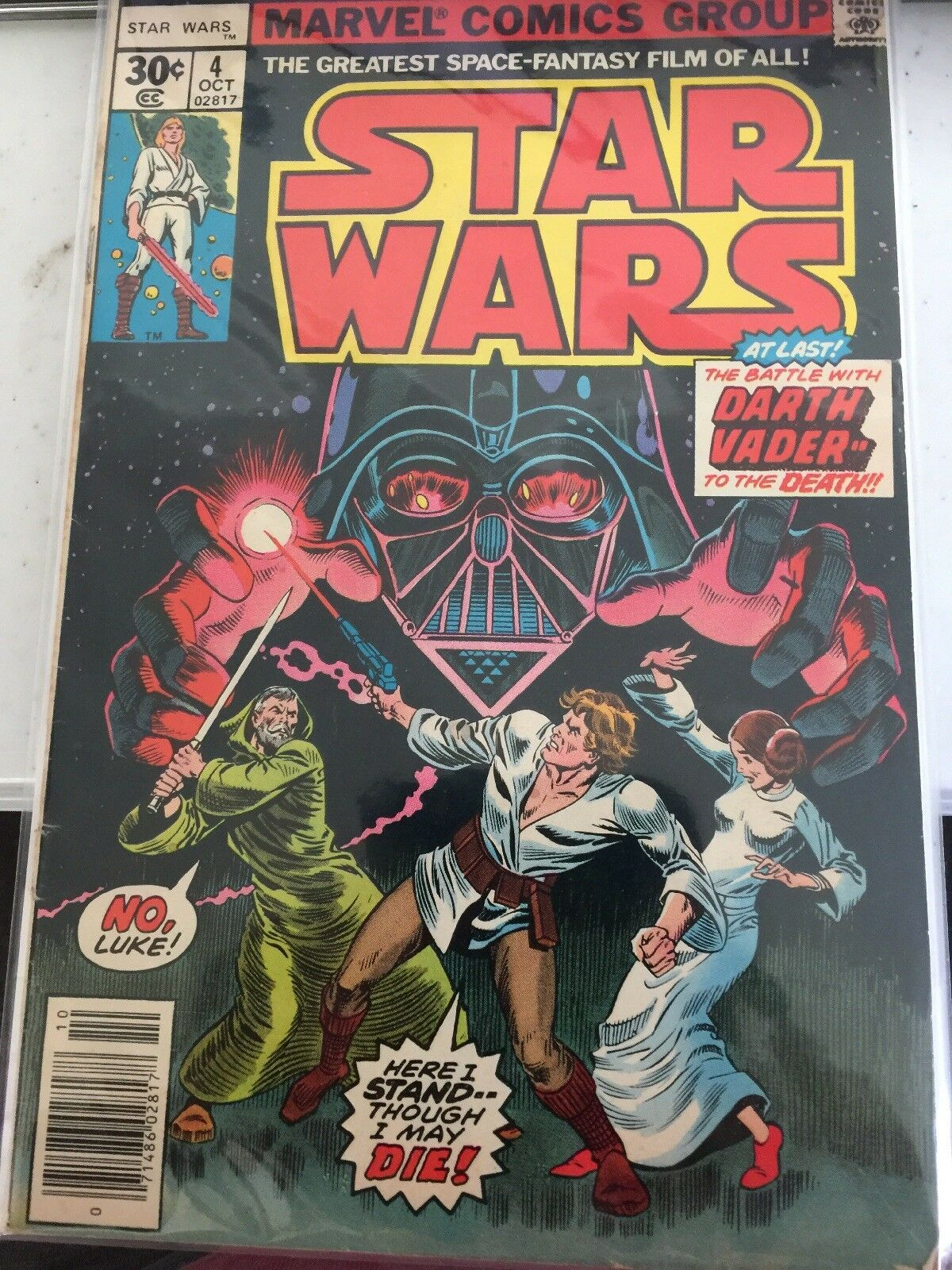 Marvel Comics Group  Star Wars The Battle with Darth Darth Darth Vader to the death 6aed39