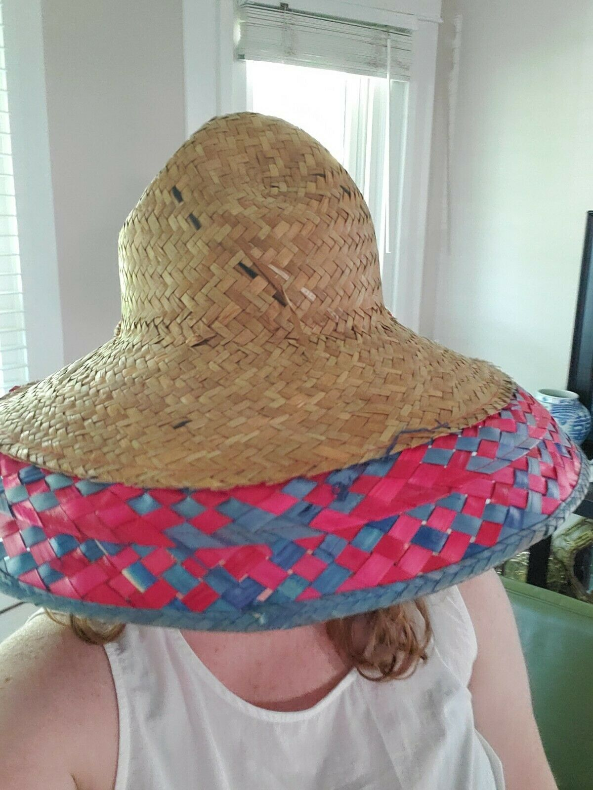 Summer Boho Hand Woven Straw Hat  - image 3
