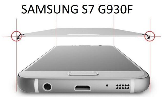 SALVASCHERMO VETRO TEMPERATO PER SAMSUNG S7 G930F COPERTURA TOTALE 100%