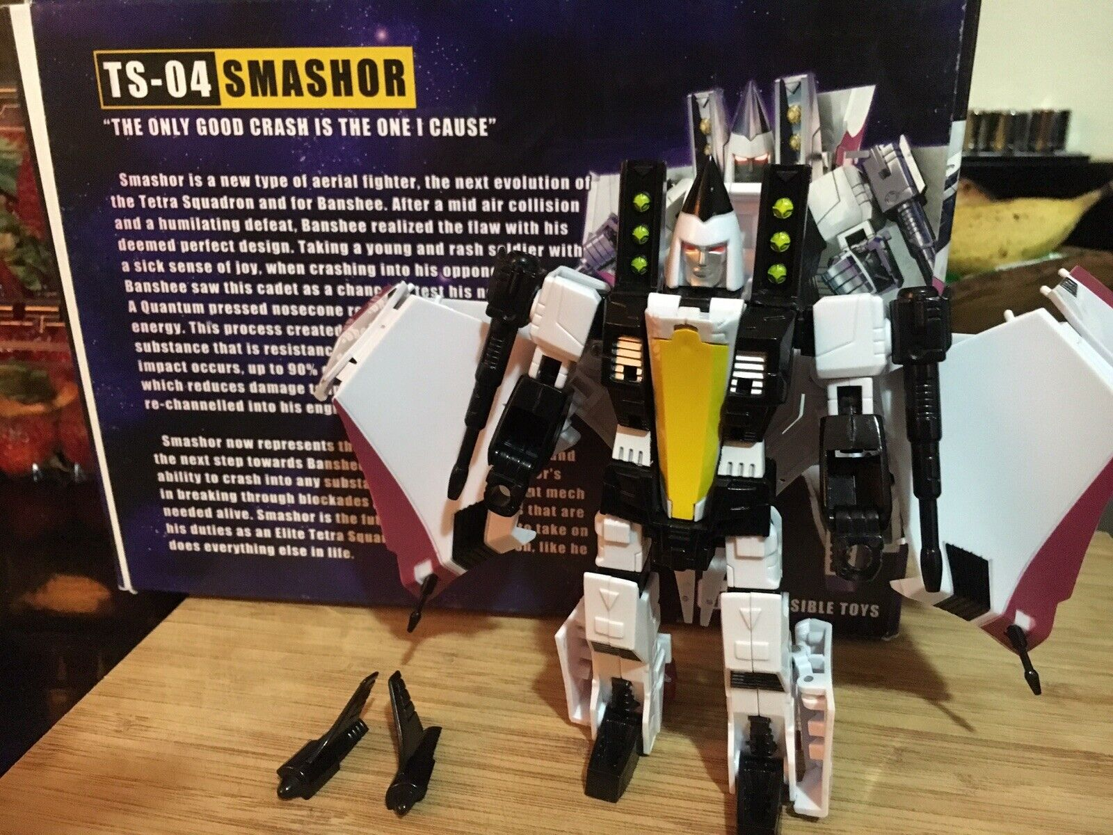 Transformers Impossible Toys TS-04 Smashor (Ramjet) 100% Complete