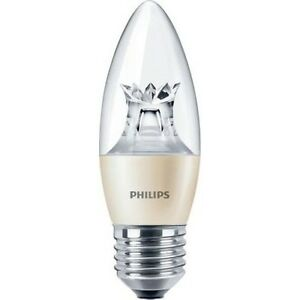 Philips-Master-LED-Candle-Kerze-6W-40W-Warm-DIMMBAR-DimTone-Leuchte-E27-Clear