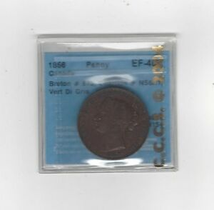Can-Token-NS-6A1-Breton-875-CCCS-Graded-EF-40-One-Penny-Token
