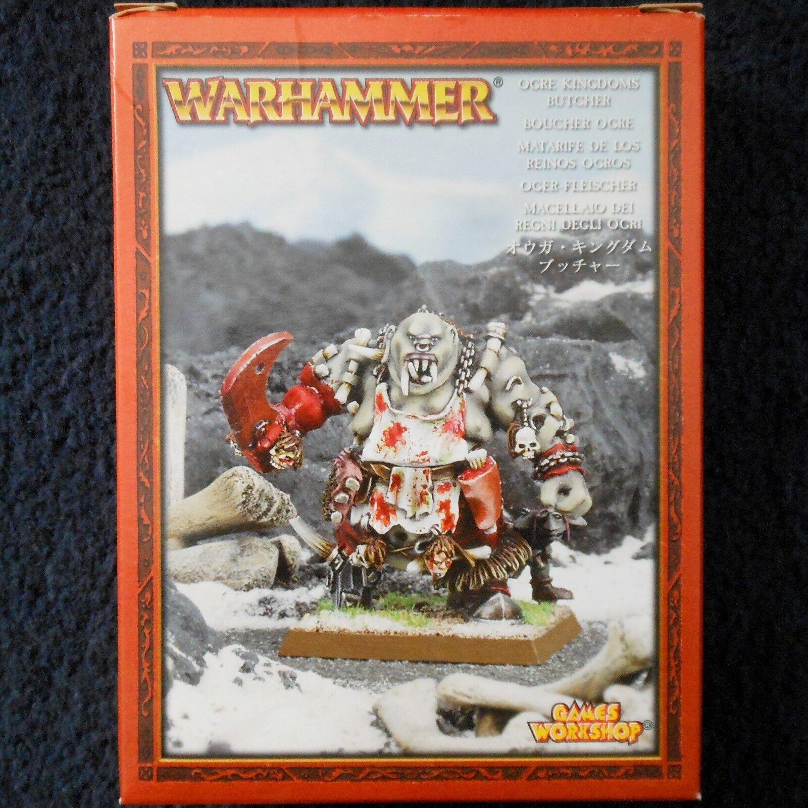 2005 ORCO MACELLAIO  MACELLO MASTER WARHAMMER Esercito REGNI CITTADELLA Cook ogor Nuovo di zecca con scatola  vendita online