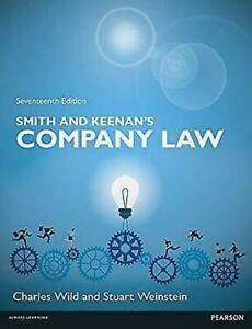 Smith-amp-Keenan-039-s-Company-Law-Uk-Edition