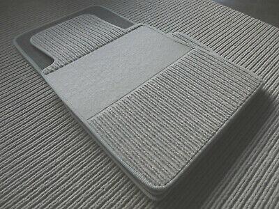 Lengenfelder Rips Fußmatten für Mercedes Benz W123 Coupe C123 brasil braun NEU