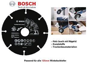 Bosch Trennscheibe Hartmetall Multi Wheel 125 X 22 23 Mm Fur Holz