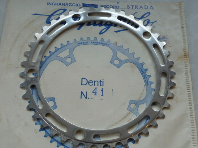 Campagnolo  Nuovo Record 41T Chainring 144 3 32  Smallest Vintage Road Bike NOS  good quality