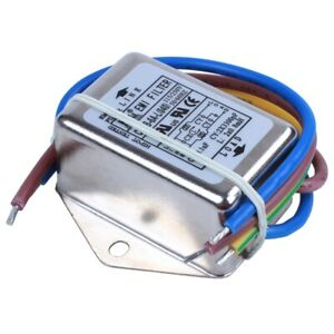 1X-Ac-115-V-250-V-6-A-Filtro-Antidisturbo-Individuale-Emi-G5S3