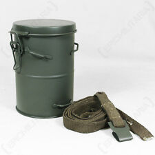 WW1 German Gas Mask Canister - Repro M1916 Metal Respirator Tin Carrier Case New
